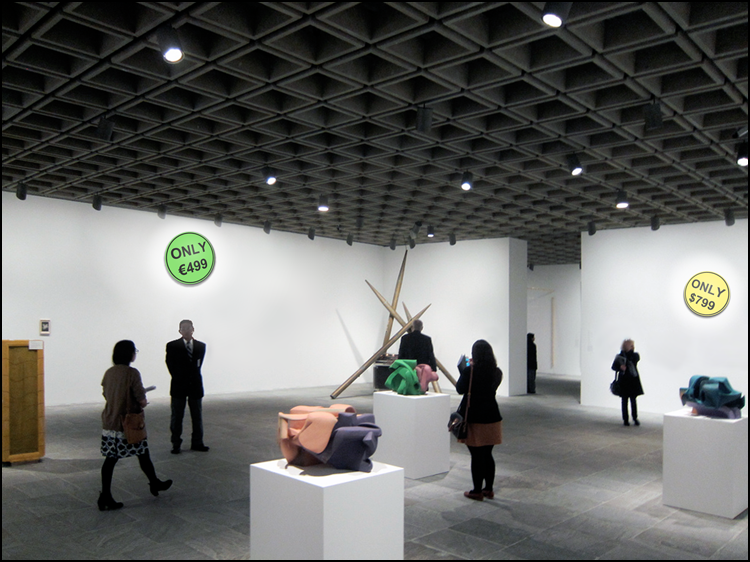 Who Hung It Better? The Whitney Museum of American Art (2012 Whitney Biennial) or The Bruce High Quality Foundation (The 2012 Bruciennial)