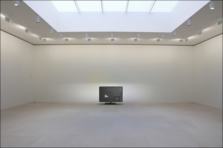 Installation View: LG Williams / The Estate of LG Williams™, The Back Of LG, LG 32LD350 HDTV, 2.9 x 31.5 x 20 inches