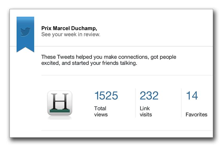 Twitter Prix Marcel Duchamp