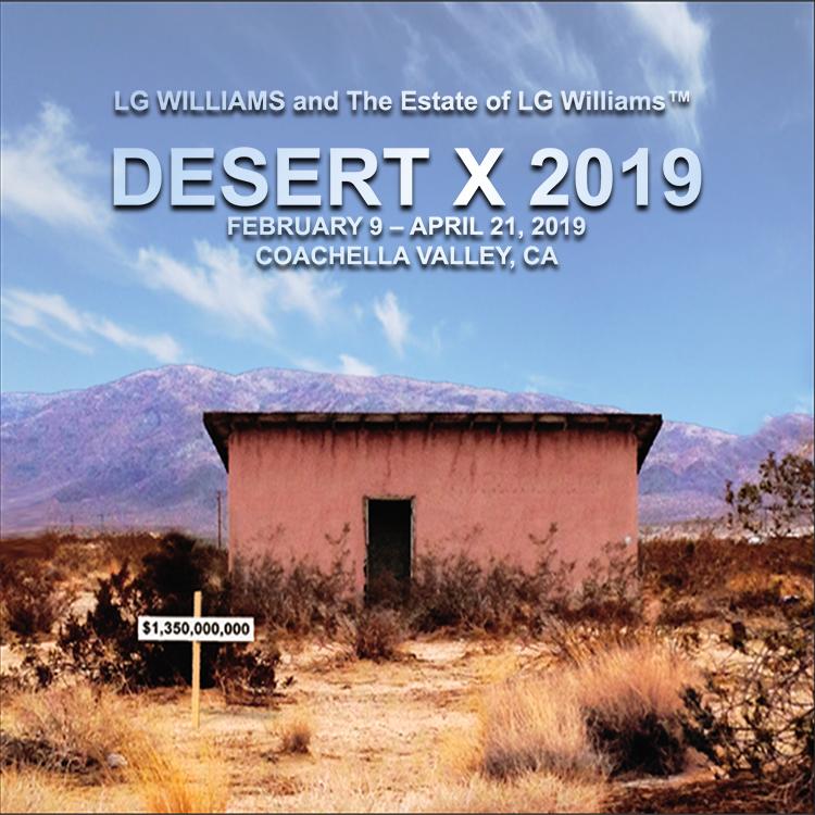 LG Williams Desert X 2019