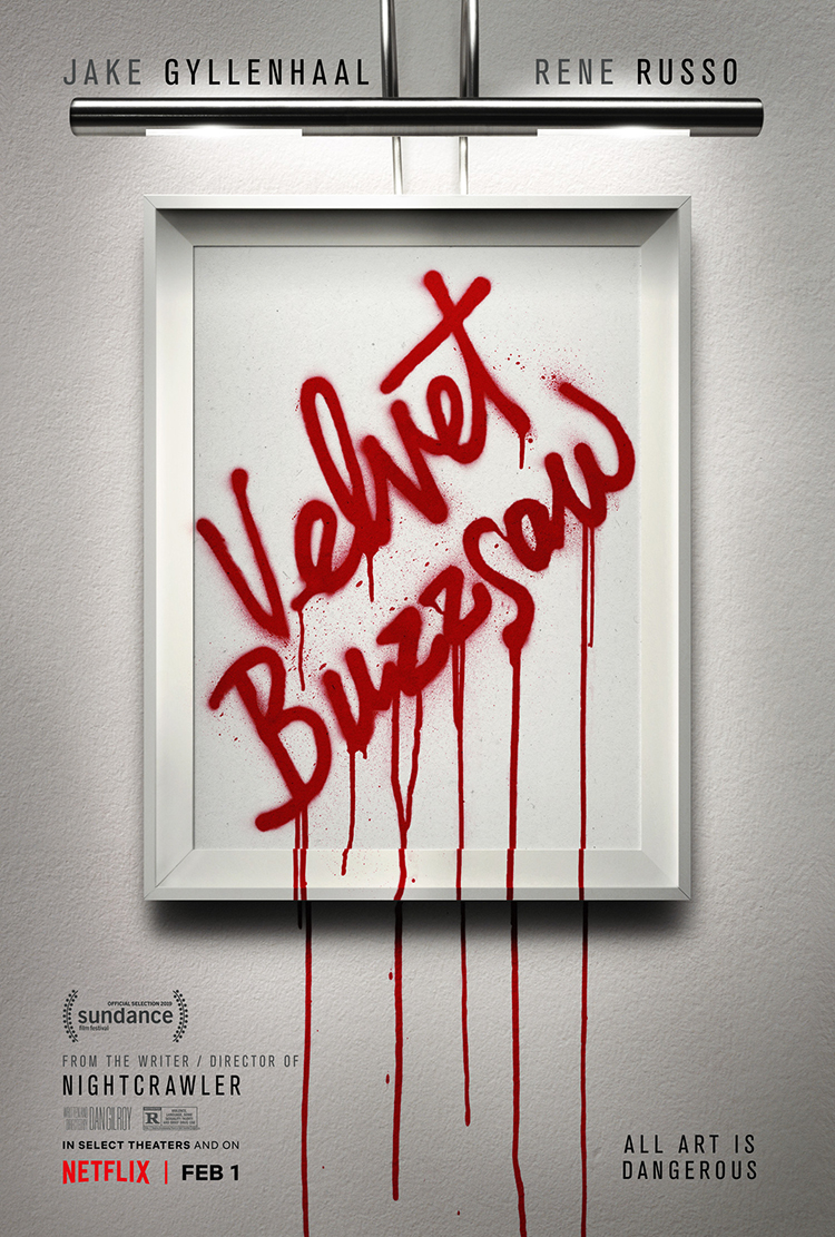 Dave Hickey's Wasted Words Scheduled to Appear in Netflix's Velvet Buzzsaw
